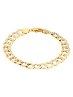14K Gold Comfort Pave Bracelet