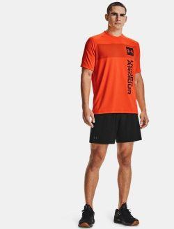 Men's UA Tech™ 2.0 Vertical Wordmark Short Sleeve
