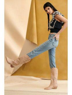 Pilcro Vintage Straight Jeans