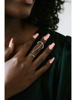 BRACHA Set You Free 14KT Gold Cuffed Ring