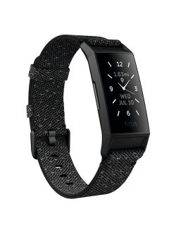 Charge 4 Fitness & Activity Tracker with Special Edition Reflective Woven Band