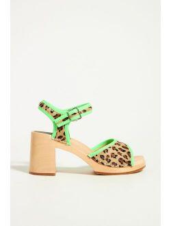 Swedish Hasbeens Steppe Clog Sandals