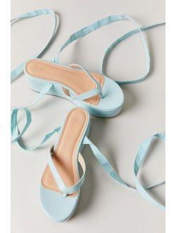Uo Marina Strappy Flatform Sandal