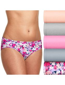 Ultimate® 5-Pack Comfortsoft® Stretch Hipster Panty 41W5CS