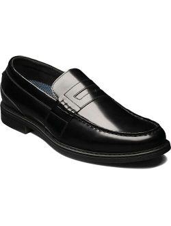 Lincoln Men's Moc Toe Penny Loafer