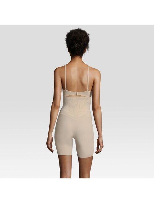 Maidenform Self Expressions Women's Lycra Fit Sense High-Waist Thigh Slimmer SE0072