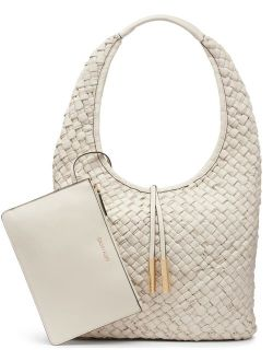 Naomi Cherub White Hobo Bag