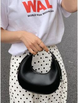 Minimalist Elegant Baguette Hobo Bag