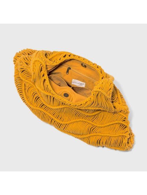 Zig Zag Soft Shoulder Handbag - Universal Thread™