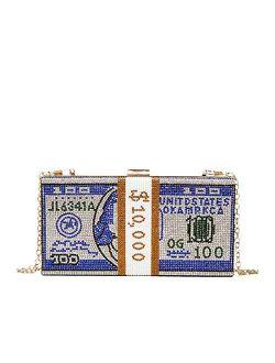 2020 New Diamond Clutch Bag Dollar Evening Bag Shoulder Bag