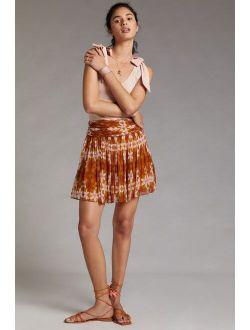 Guapa Ruched Mini Skirt
