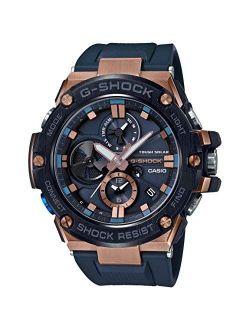 Casio G-shock G-steel Black Resin Band Watch Gstb100g-2a