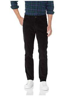 Men's Standard Slim-fit 5-pocket Comfort Stretch Corduroy Pant