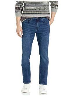 Men's Comfort Stretch Straight Slim-fit Jean