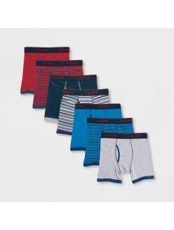 Boys' 7pk Boxer Briefs - Colors Vary