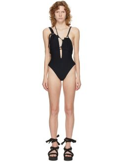Ottolinger Black Laced One-Piece Swimsuit