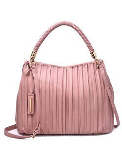 Mellow World Ciaran Pleated Hobo Bag