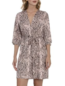 Women's and Women's Plus Knit Robe