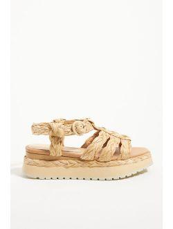 Paloma Barcelo Braided Fisherman Sandals