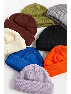 Urban Outfitters UO Short Roll Circular Knit Beanie