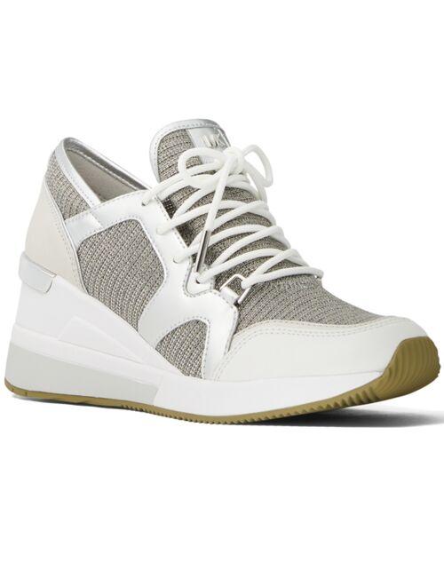 Michael Kors Liv Trainer Signature Logo Sneakers