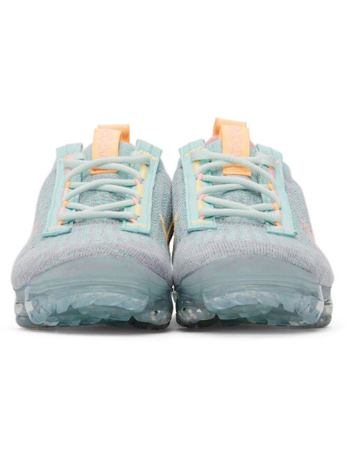 Nike Tricolor Air Vapormax 2021 FlyKnit Sneakers