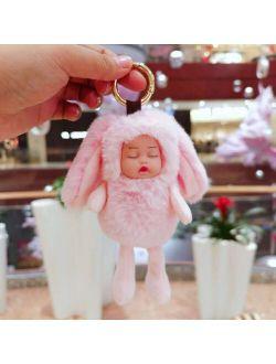 RUIYI 10PCS plush toy Plush Dolls doll pendant keychain Soft doll Soft Stuffed Bears Toy Doll toy gifts