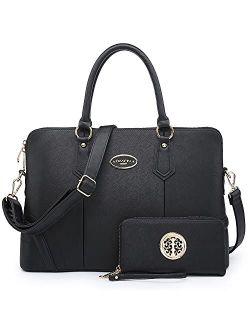 Women's Fashion Handbag Slim Two Tone Shoulder Bag Satchel Purse Top Handle Bag