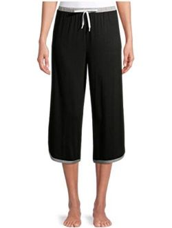 Women's and Women's Plus Sleep Capri Pants