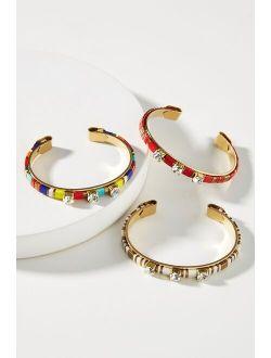 Sandy Hyun Chiclet Cuff Bracelet