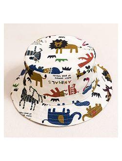 ZHEMAIDZ Sun hat Baby Boy Girl Hat Cap for Children Kids Toddlers Bucket Fishing Floppy Sun Hat Boys Girls Cartoon Fashion (Color : Style K, Size : M (1 3 Years))