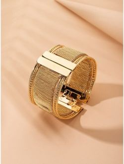 Wide Shaped Bracelet
