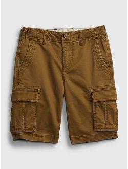Kids Cargo Shorts with Washwell™