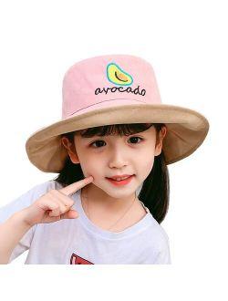 Basin Hats Letter Sun Cap Outdoor Travel Caps Fashion Children Fisherman's Hat Spring & Summer Kids