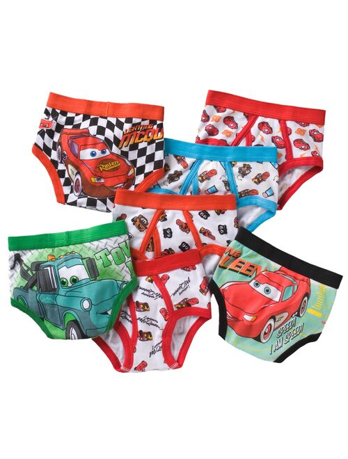Disney Cars 7-pk. Briefs- Toddler Boy