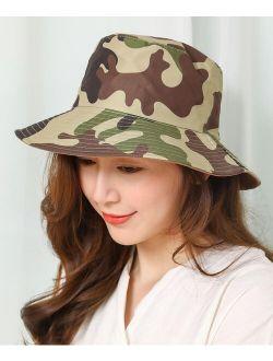JC Sunny Brown & Green Camouflage Bucket Hat