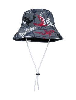 Tuga Sunwear Falcon Gray Shark Reversible Bucket Hat