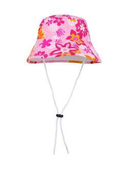 Tuga Sunwear Taffy Floral Pineapple Reversible Bucket Hat