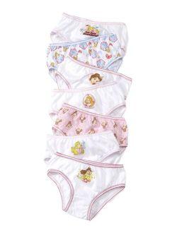Princesses 7-Pack Cotton Underwear, Little Girls & Big Girls