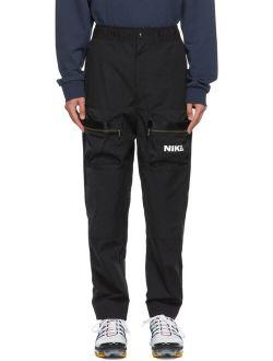 Black Sportswear City Cargo Pants