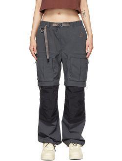 Grey NRG ACG Smith Summit Cargo Pants