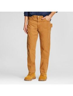 Men's Relaxed Fit Straight Leg Carpenter Duck Jeans