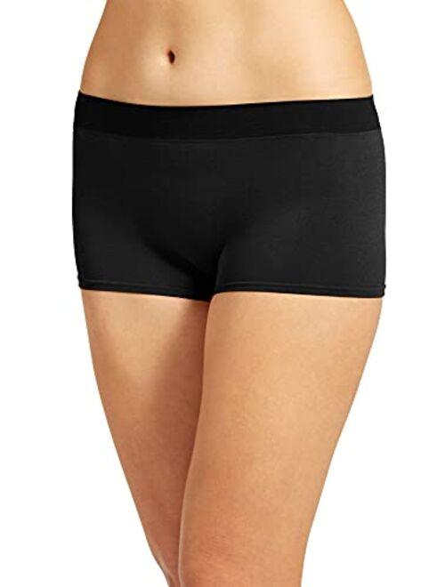 Jockey Women's Underwear Modern Micro Seamfree Boyshort