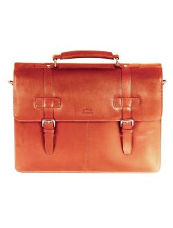 Mancini Colombian Collection Double Compartment Laptop/ Tablet Briefcase