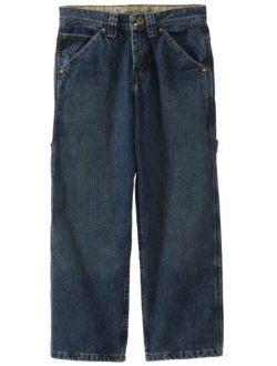 Big Boys' Dungarees Carpenter Utility Jeans