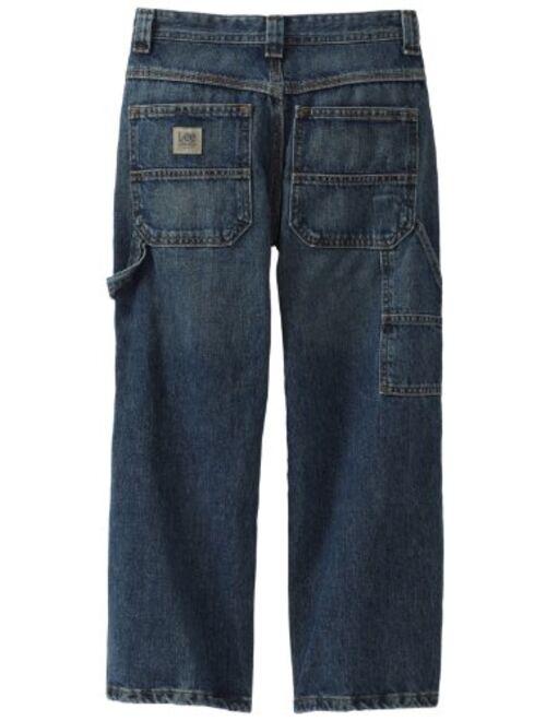 Lee Big Boys' Dungarees Carpenter Utility Jeans