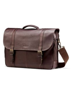 Colombian Leather Flapover Laptop Case