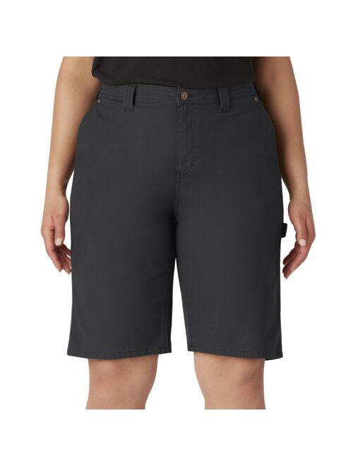 Plus Size Dickies Denim Carpenter Shorts