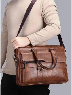 Men Pocket Front Briefcase
