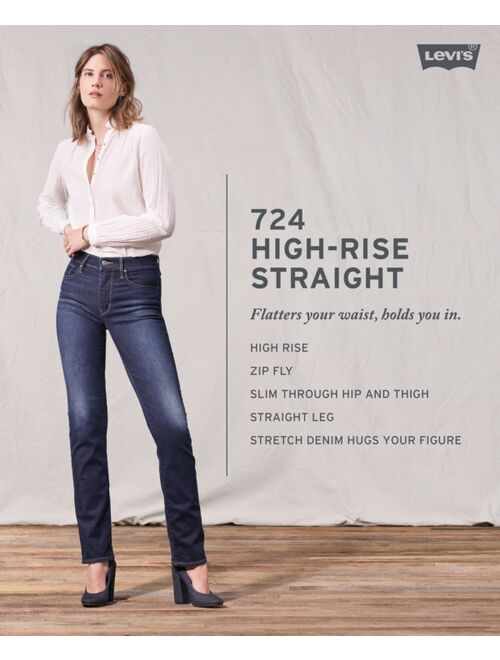Levi's Women's 724 High Rise Carpenter Crop